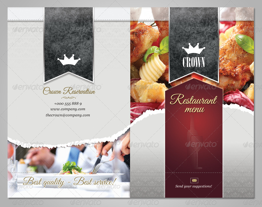 Delicious Restaurant Menu Template